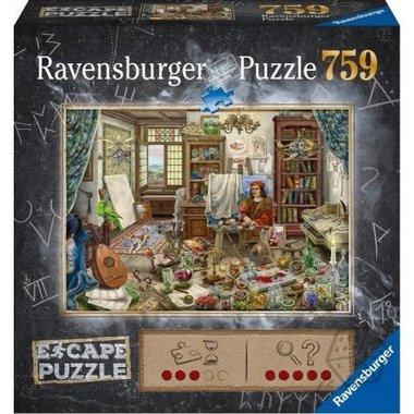 Escape Puzzel: Kunstenaarsatelier (759)