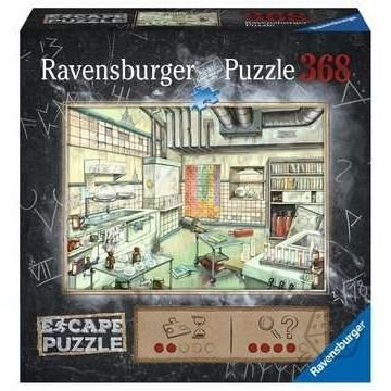 Escape Puzzel: Laboratorium (368)