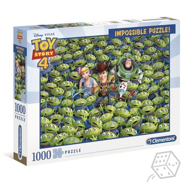 Toy Story - Impossible Puzzle (1000)