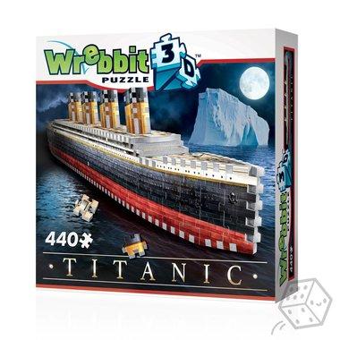 Titanic - Wrebbit 3D Puzzle (440)
