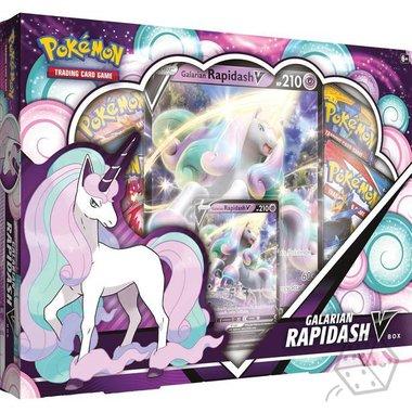Pokémon: Galarian Rapidash V Box
