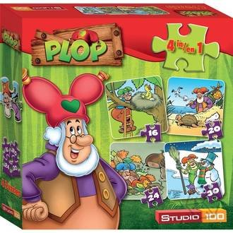 Plop: 4 in 1 Puzzels