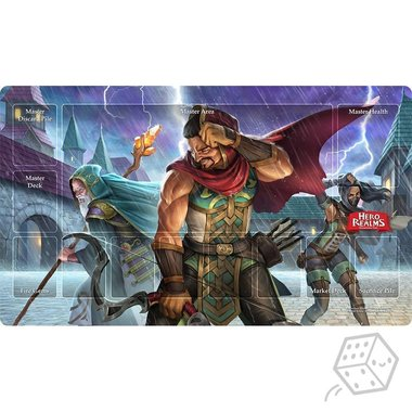Hero Realms: Campaign Playmat - Relentless Storm