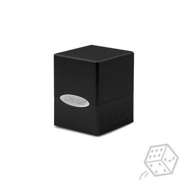 Satin Cube Deck Box (Black)