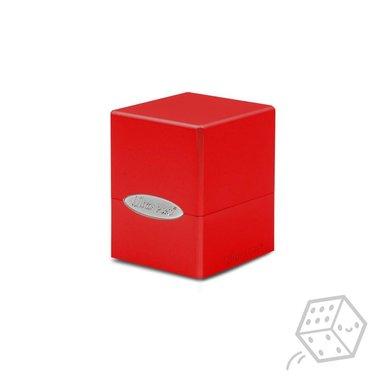 Satin Cube Deck Box (Red)