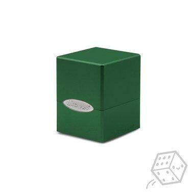 Satin Cube Deck Box (Green)