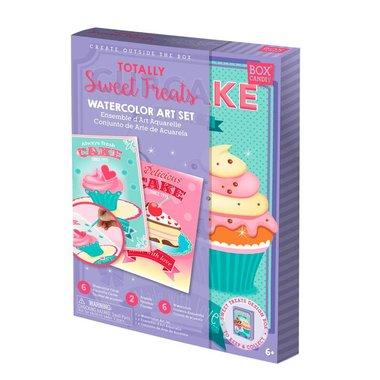 Box Candiy: Totally Sweet Treats (Watercolor Art Set)