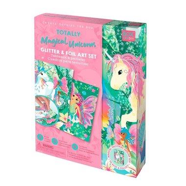 Box Candiy: Totally Magical Unicorns (Glitter Art Set)