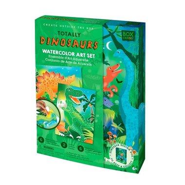 Box Candiy: Totally Dinosaurs (Watercolor Art Set)