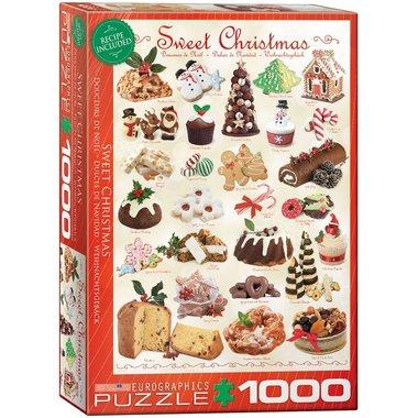 Sweet Christmas - Puzzel (1000)