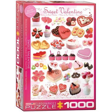 Sweet Valentine - Puzzel (1000)