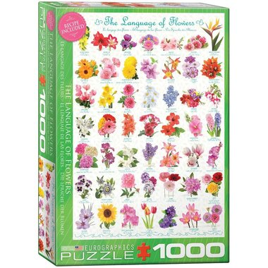 The Language of Flowers - Puzzel (1000)