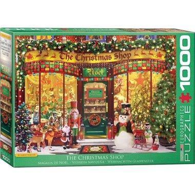 The Christmas Shop - Puzzel (1000)