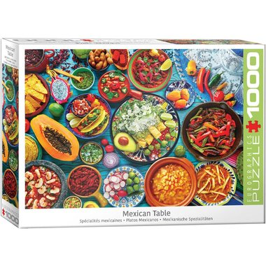Mexican Table - Puzzel (1000)