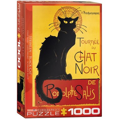 Black Cat - Puzzel (1000)