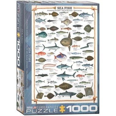 Sea Fish - Puzzel (1000)