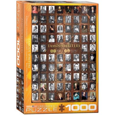 Famous Writers - Puzzel (1000)