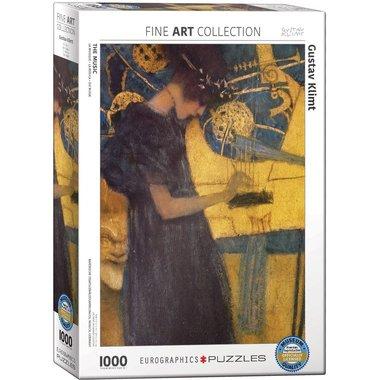 The Music, Gustav Klimt - Puzzel (1000)