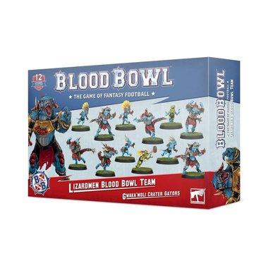 Blood Bowl: Gwaka'moli Crater Gators (Lizardmen Blood Bowl Team)
