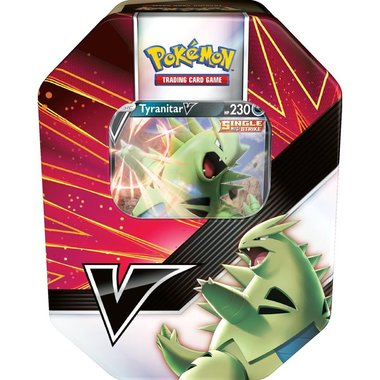 Pokémon: Summer 2021 Tin (Tyranitar V)