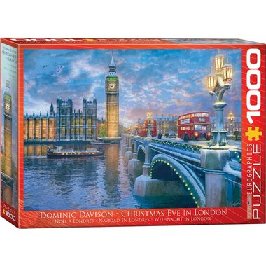 Christmas Eve in London - Puzzel (1000)