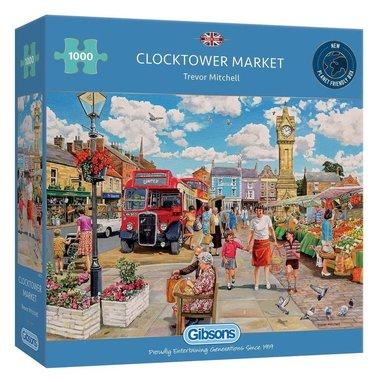 Clocktower Market - Puzzel (1000)
