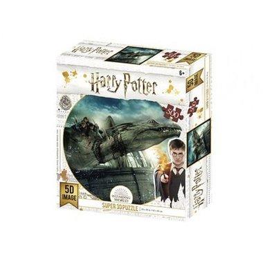 Harry Potter: Gringotts Dragon - Prime 3D Puzzle (500)