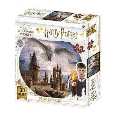 Harry Potter: Hogwarts & Hedwig - Prime 3D Puzzle (500)