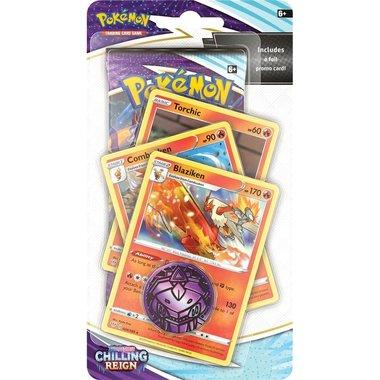 Pokémon: Sword & Shield - Chilling Reign (Premium Checklane Blister - Blaziken)