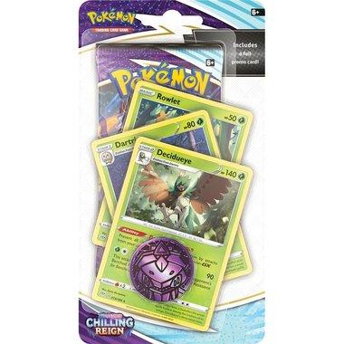 Pokémon: Sword & Shield - Chilling Reign (Premium Checklane Blister - Decidueye)