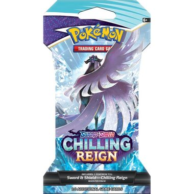 Pokémon: Sword & Shield - Chilling Reign (Sleeved Booster)