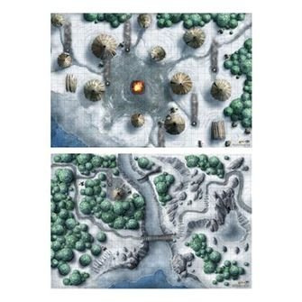 Dungeons & Dragons: Icewind Dale (Encounter Map Set)
