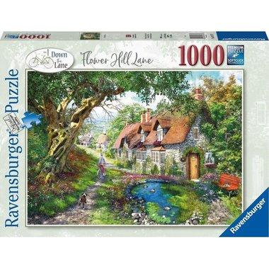 Flower Hill Lane - Puzzel (1000)