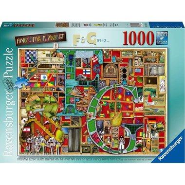 Awesome Alphabet F & G - Puzzel (1000)