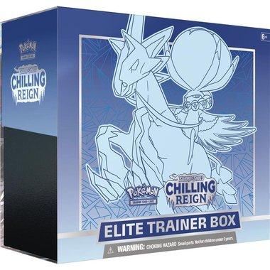 Pokémon: Sword & Shield - Chilling Reign (Elite Trainer Box - Ice Rider Calyrex)