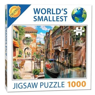 Venice Canals - World's Smallest Jigsaw Puzzle (1000)
