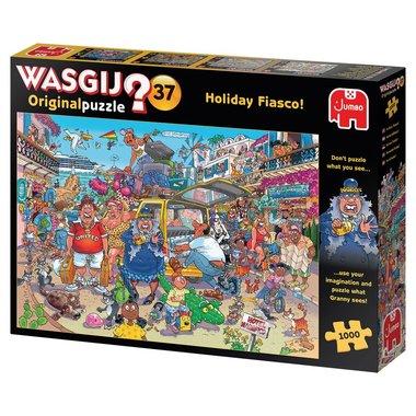 Wasgij Original Puzzel (#37): Vakantiefiasco! (1000)