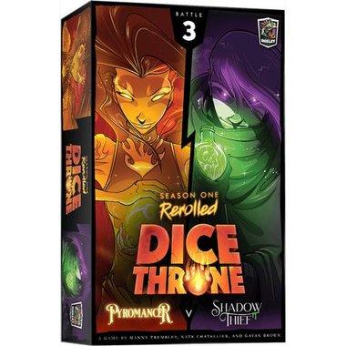 Dice Throne Season One ReRolled: Pyromancer V. Shadow Thief [BATTLE 3]