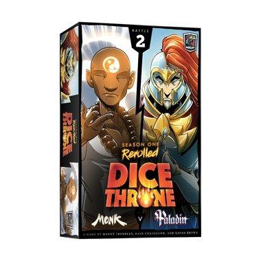 Dice Throne Season One ReRolled: Monk V. Paladin [BATTLE 2]