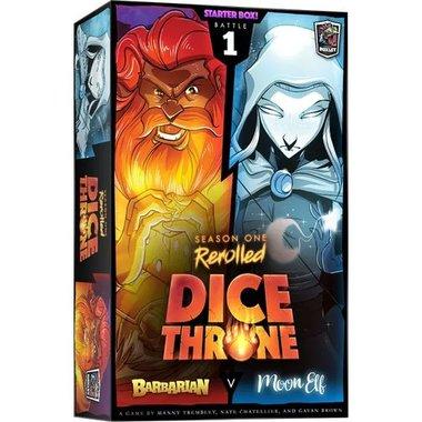 Dice Throne Season One ReRolled: Barbarian V. Moon Elf [BATTLE 1]