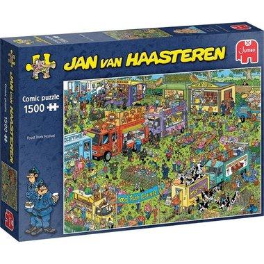 Food Truck Festival - Jan van Haasteren Puzzel (1500)