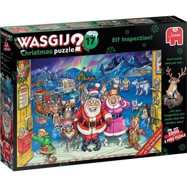 Wasgij Christmas Puzzel (#17): Elfinspectie (1000)