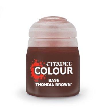 Base: Thondia Brown (Citadel)