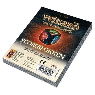 Wizard Dobbelspel: Scoreblokken