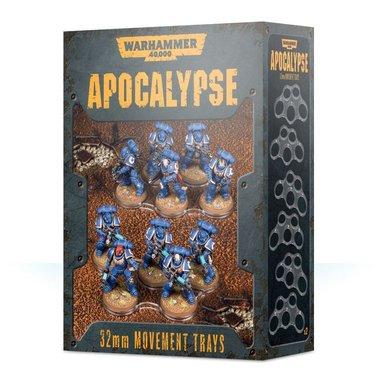 Warhammer 40,000 - Apocalypse 32mm Movement Trays