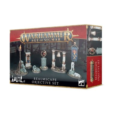 Warhammer: Age of Sigmar - Realmscape Objective Set