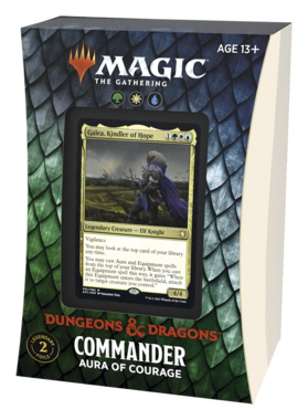 MTG: Adventures in the Forgotten Realms - Commander (Aura of Courage)