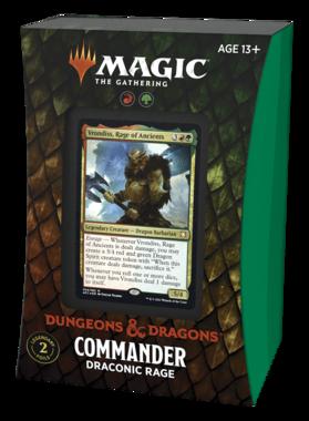 MTG: Adventures in the Forgotten Realms - Commander (Draconic Rage)
