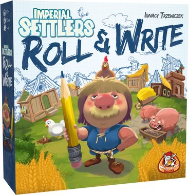 [2EHANDS] Imperial Settlers: Roll & Write
