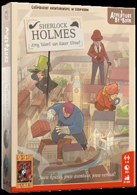 [2EHANDS] Adventure By Book: Sherlock Holmes - Jong Talent van Baker Street